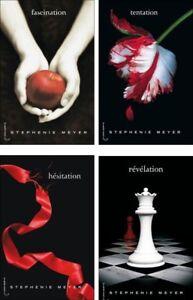 Twilight books livres
