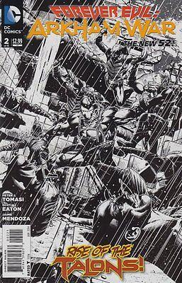 UNREAD FOREVER EVIL ARKHAM WAR 2 1:25 VARIANT NM BANE HARLEY QUINN JOKER BATMAN (Evil Harley Quinn)