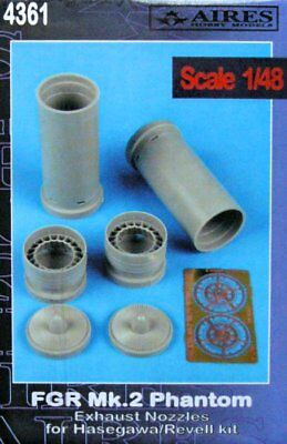 Aires 1/48 FGR.2 Phantom Exhaust Nozzles for Hasegawa kit 4361/*
