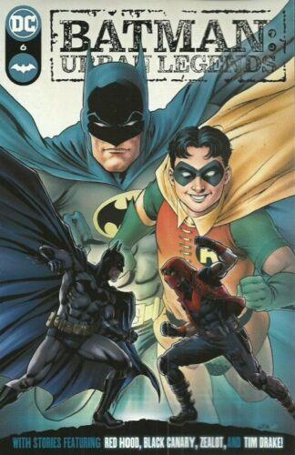 Batman Urban Legends #6 Nicola Scott Cover DC Comics 2021 Key Tim Drake