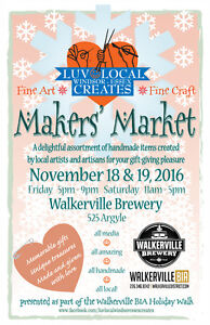 LUV LOCAL Holiday Makers' Market Windsor Region Ontario image 1
