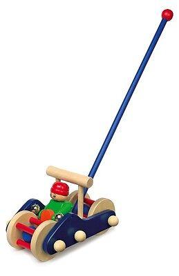 Kinder-Schiebe-Auto Holz Baby Kleinkind  Schiebe-Spielzeug