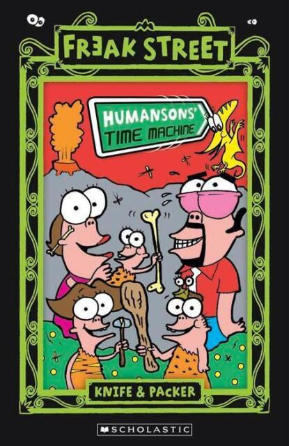 NEW Humansons' Time Machine By Knife&Packer Paperback Free Shipping