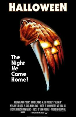 HALLOWEEN CLASSIC MOVIE POSTER 24 X 36  - Classic Halloween Movie