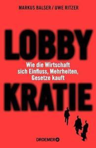 Lobbykratie - Uwe Ritzer - BUCH - PORTOFREI - Deutschland - Rücknahmen akzeptiert - Deutschland