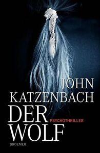 John Katzenbach DER WOLF Psychothriller OVP gebundenes Buch.
