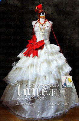 Cosplay Kostüme Anime Lolita Gothik Vocaloid Luka Hikaru  Kleidung Rock YYF5077