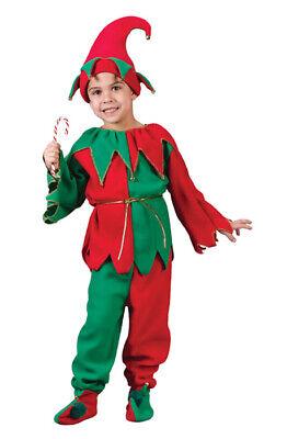 Brand New Christmas Santa Elf Set Child Halloween Costume](Child Elf Costume)