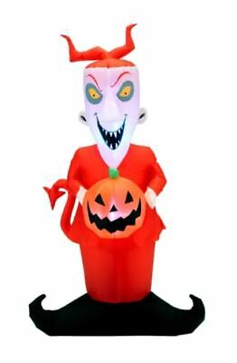 4 Ft LOCK Airblown Lighted Yard Inflatable NIGHTMARE BEFORE CHRISTMAS