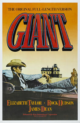 Giant James Dean Taylor Hudson movie poster print #3