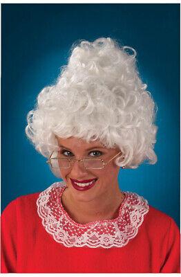 Mrs Claus Wig (Christmas Mrs Santa Claus Costume)