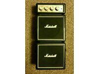 Marshall mini stack guitaramp