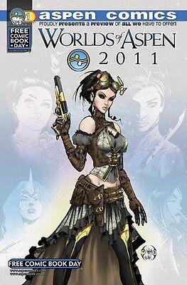 WORLDS OF ASPEN 2011 - FCBD FREE COMIC BOOK DAY - RARE LADY MECHANIKA