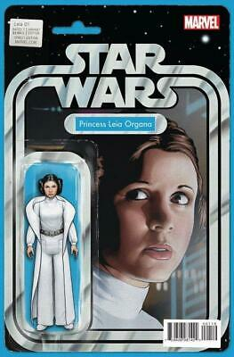Star Wars: Princess Leia #1 Variant Star Wars Action Figure Cover