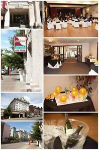 Banquet Hall and Catering in Downtown Victoria.