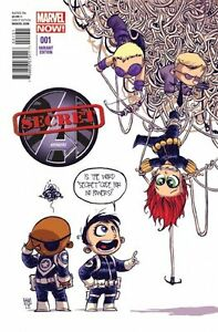 SECRET AVENGERS # 1 BABY CVR VARIANT NEW MARVEL NOW