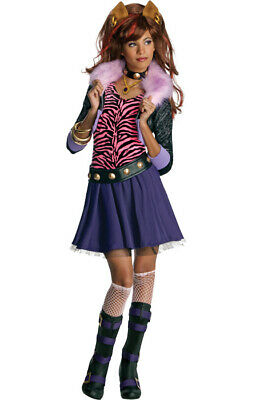 Monster High Clawdeen Wolf Child Girls Costume - Monster High Girl Costumes