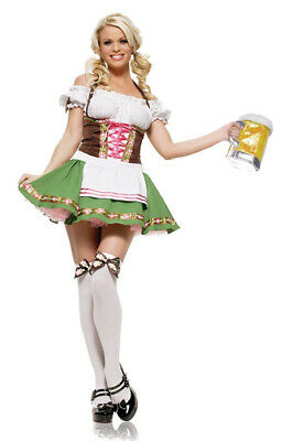 Sexy Gretchen Beer Lady October Fest Adult Halloween Costume - October Costumes