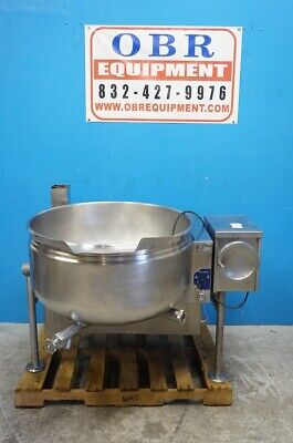 Cleveland 40 Gallon Self-contained Gas Steam Jacketed Kettle Model Kgl-40tsh