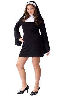 Naughty Nun Plus Size Halloween Costume