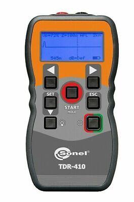 Sonel Tdr-410 Time Domain Reflectometer Afl 7m-4000m 1 Accuracy Tdr