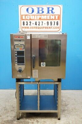 Rational Full Size Natural Gas Climaplus Convection Combi-ovens Model Cpc61g On