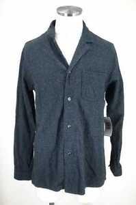 Steven-Alan-MEN-039-s-Shirt-Gray-amp-Black
