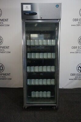 Hoshizaki Commercial Series Glass Door Refrigerator With Beverage Organizers Mod