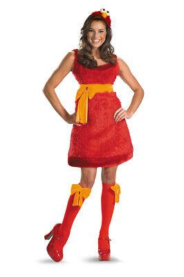 Sesame Street Elmo Sassy Adult Halloween Costume - Elmo Halloween Costumes
