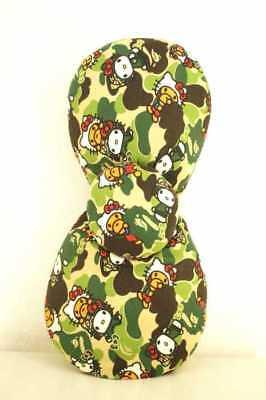 A Bathing Ape WOMEN's Fashion accessories Brown & Khaki & Green