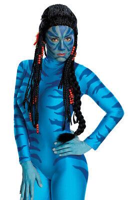 Brand New Avatar Neytiri Deluxe Adult Halloween Costume Wig
