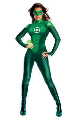 Sexy DC Comic's Green Lantern Secret Wishes Uniform Adult Halloween Costume