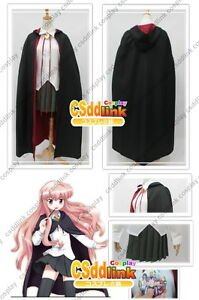 The Familiar of Zero no Tsukaima Louise Cosplay Costume any sizes CSddlink