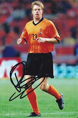 Bert Konterman, Holland, Feyenoord, Rangers, signed 6x4 inch photo. COA.