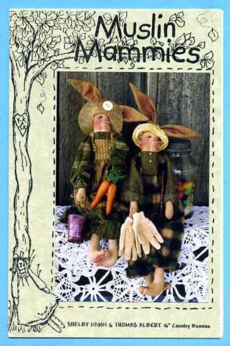 """Sewing craft Pattern Primitive Country Bunnies 16"""""""