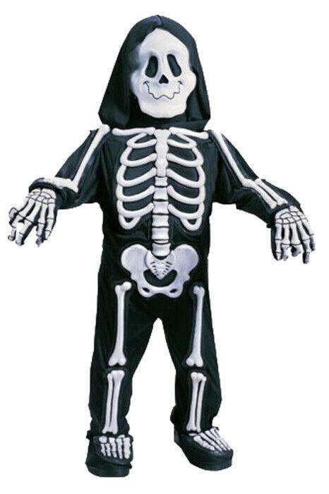 Brand New Totally Skelebones Skeleton Toddler Halloween Costume