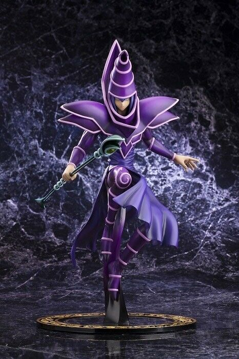 LAST1 KOTOBUKIYA SHOP LIMIT Yu-Gi-Oh! Dark Magician Duel Monsters ARTFX J Figure