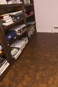 Warm Your Home with Sunny Ripple Bevel Edge Cork Floors