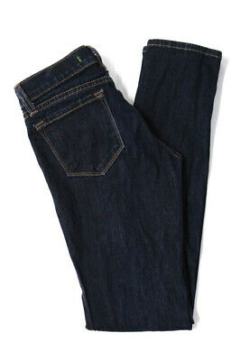 - J Brand Juniors Jeans Size 10 Blue Low Rise Skinny
