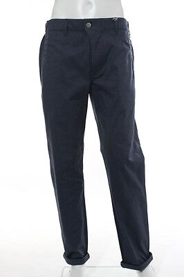 Julien David Blue Straight Causal Dress Pants Size Extra Large $440 New 115071