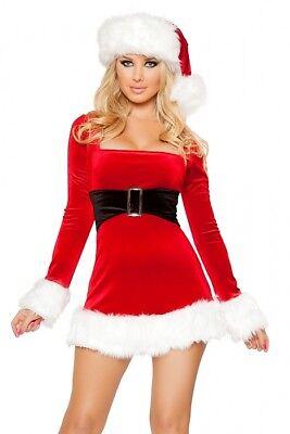 Weihnachts Kostüm Kleid Größenwahl NEU S/M M/L Stretch - Weihnachts Kostüm Kleid