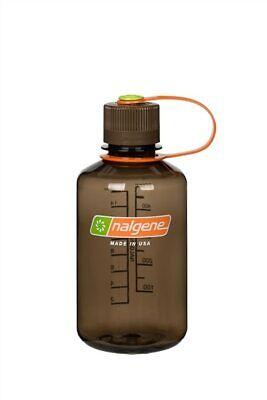 Nalgene Narrow Mouth 16oz Loop Top Water Bottle Woodsman w/Brown Lid BPA covid 19 (Nalgene Narrow Mouth Loop Top coronavirus)