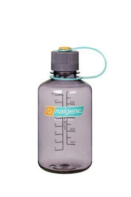 Nalgene Narrow Mouth 16oz Loop Top Water Bottle Aubergine w/Auber. Lid BPA covid 19 (Nalgene Narrow Mouth Loop Top coronavirus)