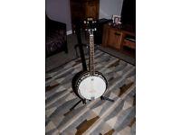 OZARK 4 String Tenor Banjo, never played