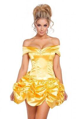 Märchen Kostüm Kleid Top Rock gerafft Schneewittchen Größenwahl NEU Made in USA
