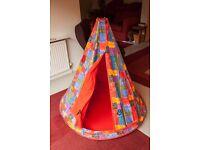 Habitat Geronimo Child's or Kid's Play Tent or Wigwam