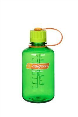 Nalgene Narrow Mouth 16oz Loop Top Water Bottle Melon Ball w/Yellow Lid BPA covid 19 (Nalgene Narrow Mouth Loop Top coronavirus)