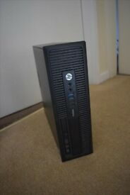 HP ProDesk 600 G1 PC. i3-4130, 16GB RAM, 500GB HDD