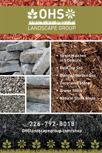 Mulch, Soil, Decorative and Natural Stone, DELIVERED NEXT DAY!