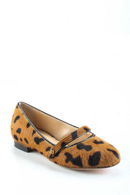 Charlotte Olympia Childrens Girls Flats Size 28 Brown Incy Mary Jane $365 New (Childrens Size 28)
